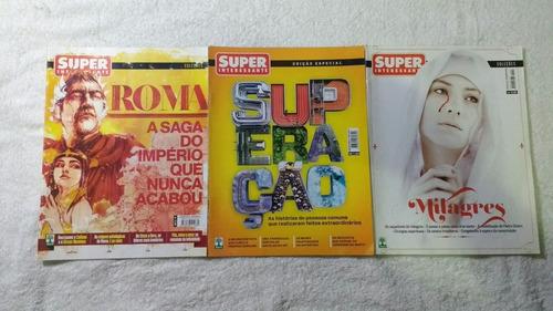 9 revistas superinteressante especiais dossiês coleções