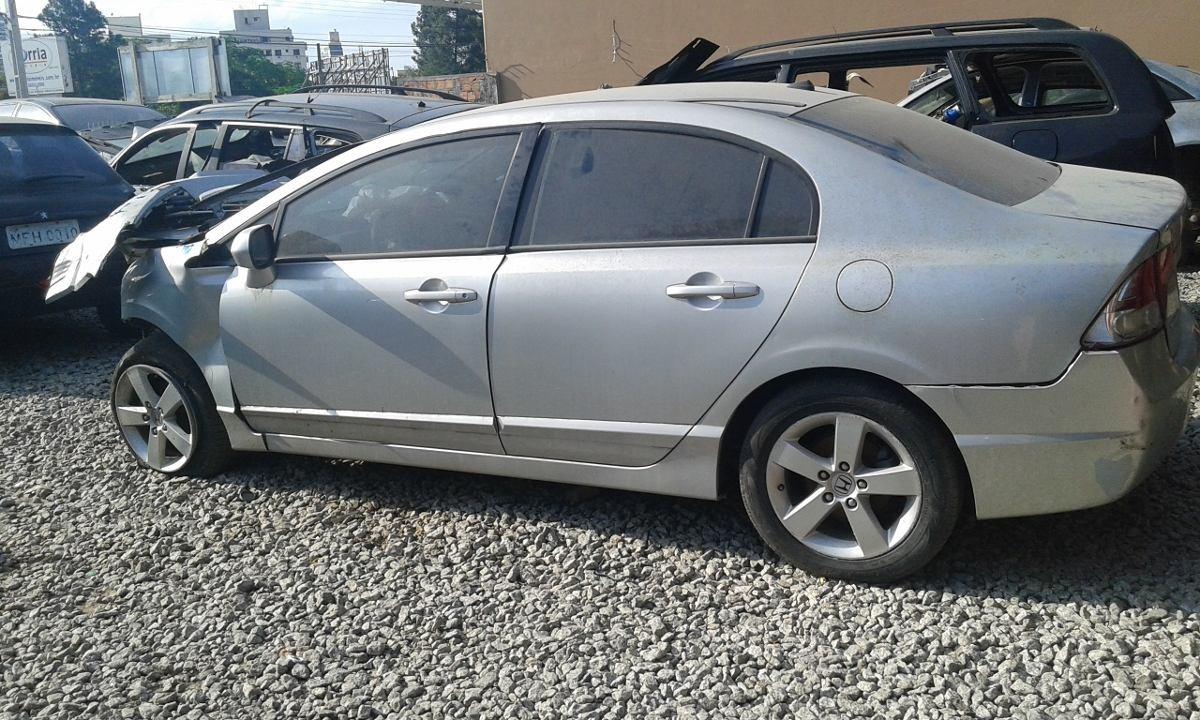 Nice ... Honda Civic Lx 2007 Auto. Retirada De Peças. Carregando Zoom.
