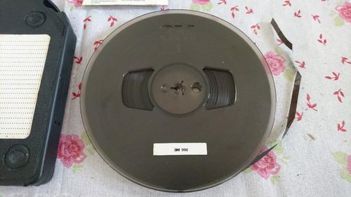 9 tapes/fitas de rolo marca 3m (1999) na caixa. usado/ótimo