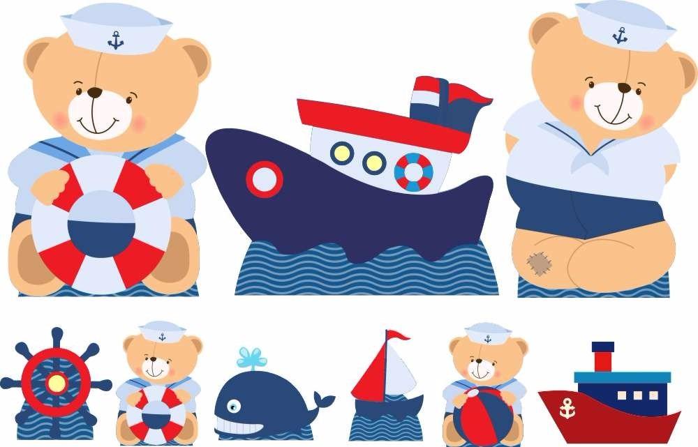 9 totem de festa e display ursinho marinheiro festa infantil r marinheiro festa infantil carregando zoom thecheapjerseys Image collections