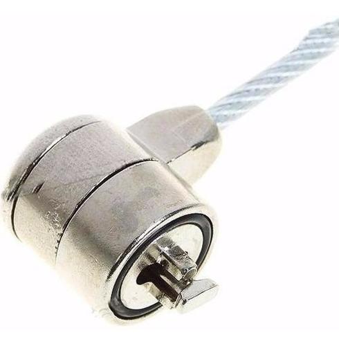 9 trava de segurança notebook pc cadeado 2 chaves cabo de
