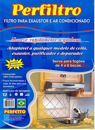 9 unidades filtro suggar exaustor