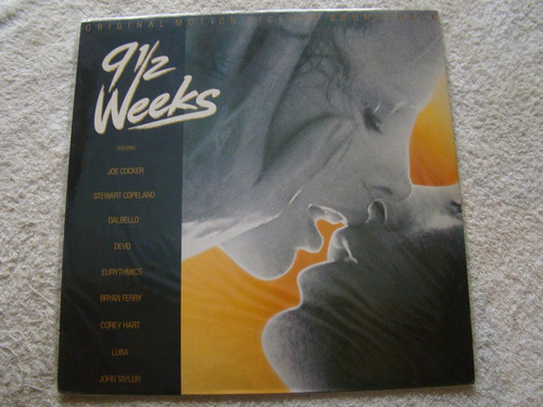 9½ weeks original picture soundtrack lp holanda vinilo exc++