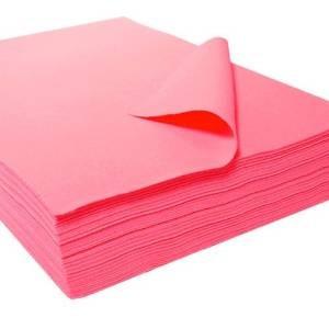 9  x 12  1302 hojas de acrílico de fieltro - 25 pc rosa impa