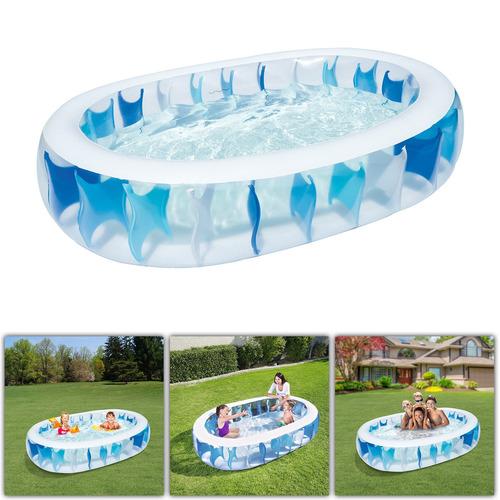 ¿90? ¿× 60? ¿× 20? piscina inflable al aire libre patio agua