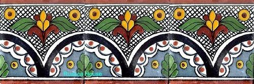 90 azulejos de talavera 10x10 arco