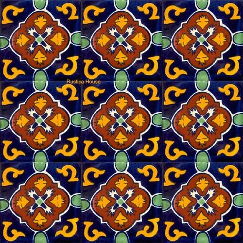 90 azulejos de talavera 10x10 - dolores