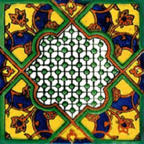 90 azulejos de talavera 10x10 - julio