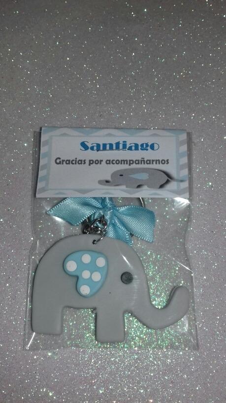 Ideas Para Baby Shower Elefante.90 Llaveritos De Elefante C Envio Gratis Para Baby Shower