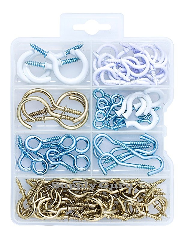 1 caja Kit surtido de tornillos y tuercas 600 piezas 12 tipos de tornillos peque/ños Kit de surtido de tuercas M1 M1.2 M1.4 M1.6 para relojes Glassess