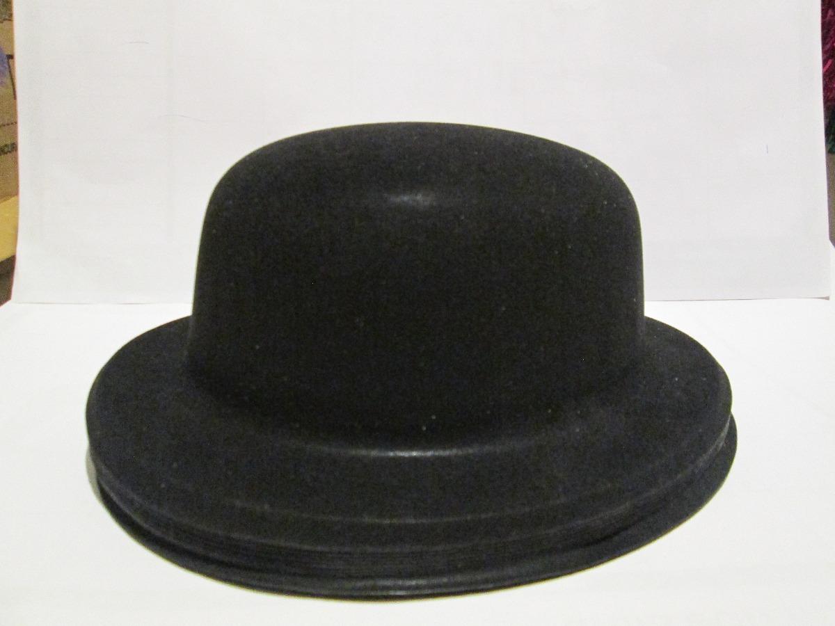 90 sombrero negro bombin fieltro plastico fiesta boda xv. 7 Fotos 15940766ff5
