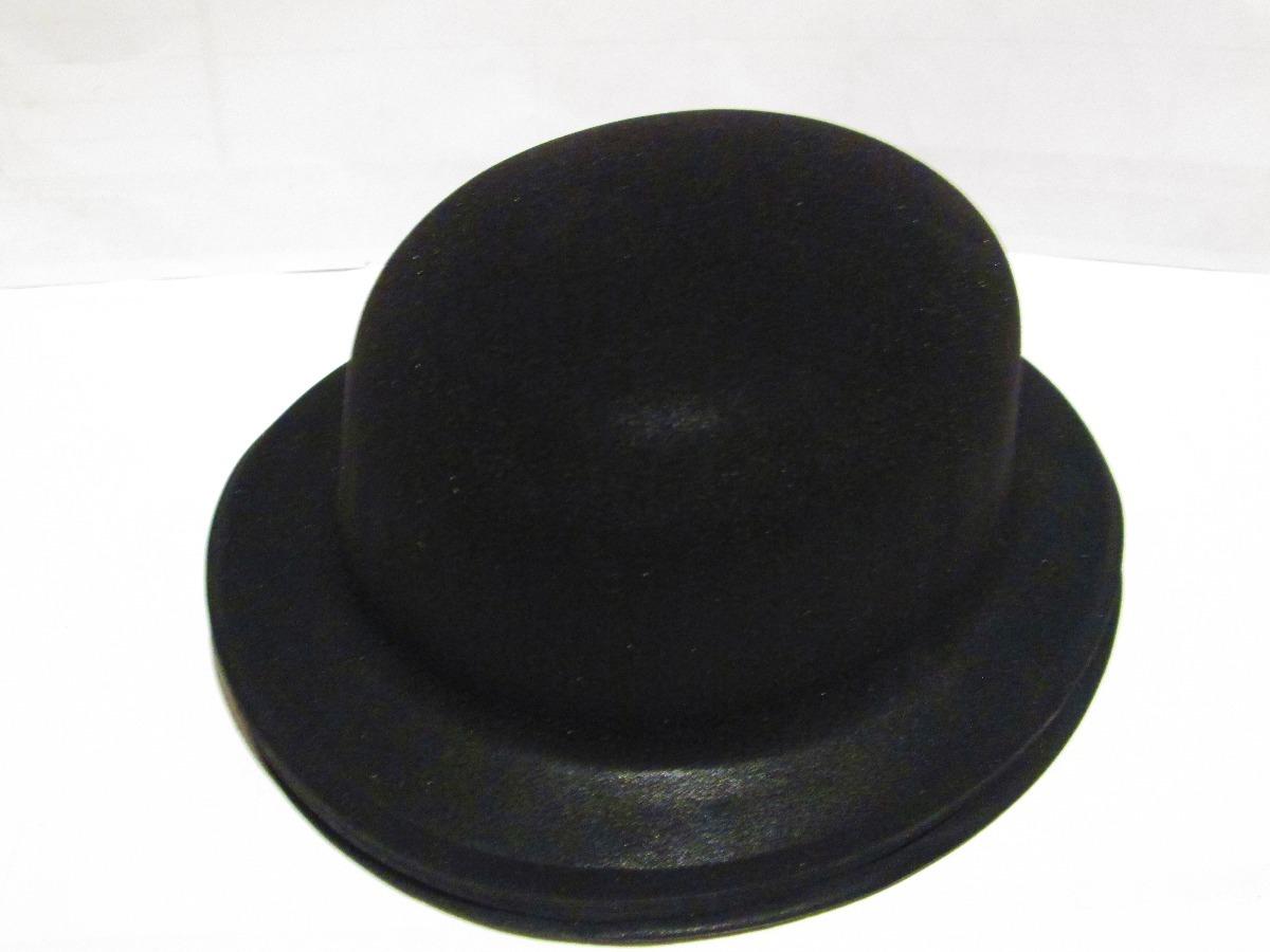 90 sombrero negro bombin fieltro plastico fiesta boda xv. 7 Fotos 095457e4e6c