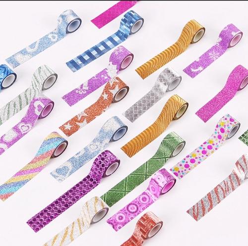90 washi tape mini glitter scrapbook sorriso para planner