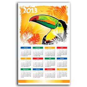 900 Calendarios De Pared - 50x34 Cms - Termolaminados