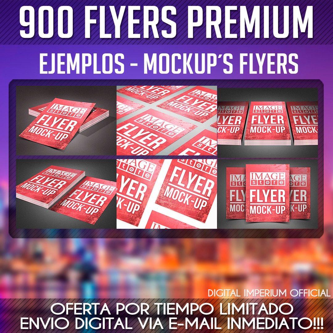 900 Flyers Premium (psd´s) + Tarjetas De Visita + Regalo - $ 50.00 ...