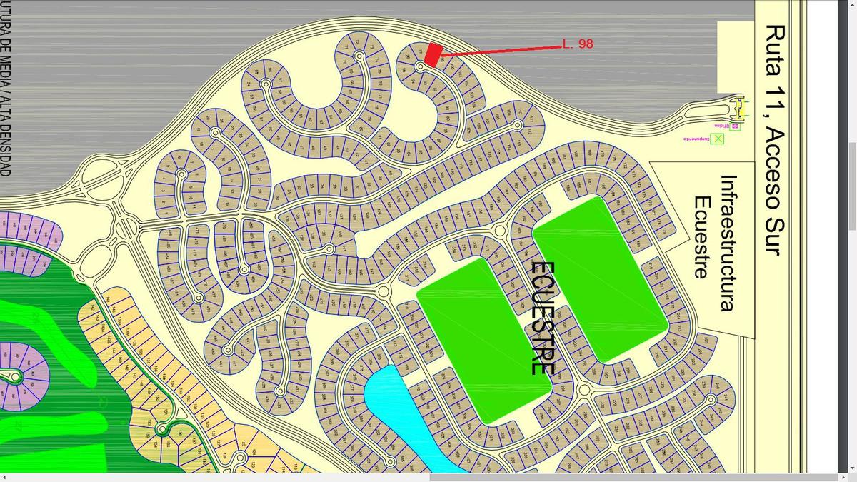 9059 - barrio ecuestre - lote 98
