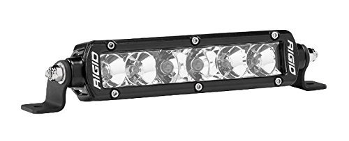 906313 rigid sr - serie pro | bar luz led combo 6 -inch, 906