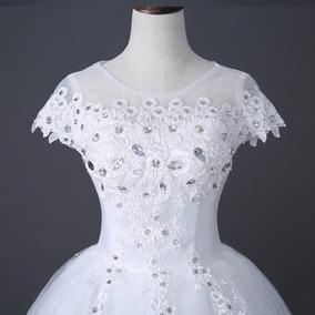 9867e20c6f0d Vestido De Noiva Tule Princesa Marca Cintura - Calçados, Roupas e Bolsas  com o Melhores Preços no Mercado Livre Brasil