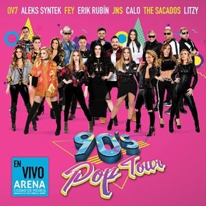 90's pop tour (2 cd's + dvd) 2017 smm
