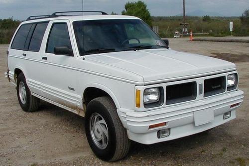 91-94 oldsmobile bravada chapa manija llaves puerta trasera
