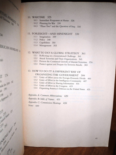 9/11. informe senado estados unidos terrorismo