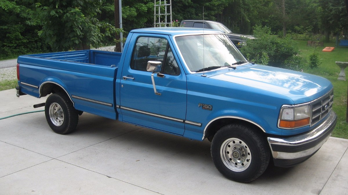 Ford F additionally  additionally  as well Original besides Large. on 1995 ford f 150 extended cab