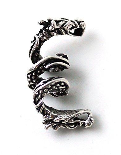 925 sterling silver noruego viking dragón barba beads anill