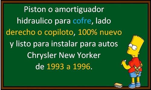 93-96 chrysler new yorker piston hidraulico cofre derecho