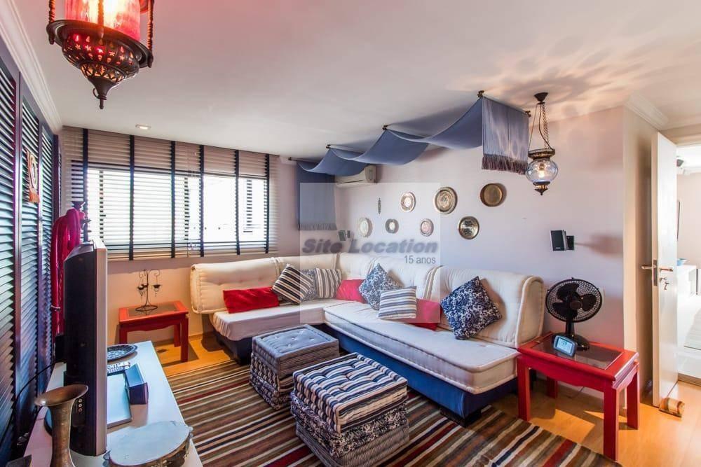 93057  *  linda cobertura de 270m² com 4 dorm e 3 vagas. - ap2041