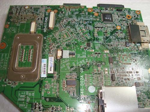 932 - placa mãe 6-71-m5ss40-d02a gp positivo z65 (defeito)