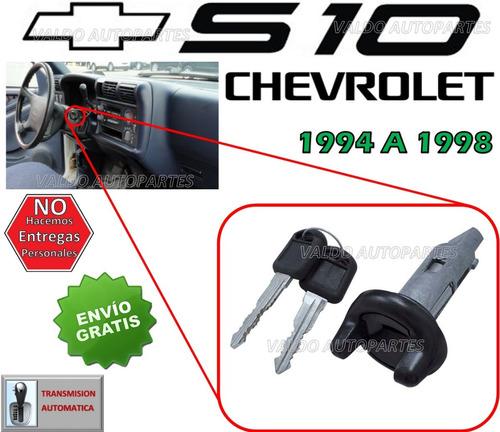 94-98 chevrolet s10 switch de encendido con llaves t/a