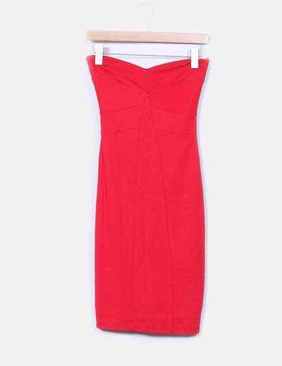 Vestidos rojos mango