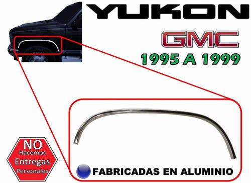 95-99 gmc yukon moldura arco delantera lado izquierdo