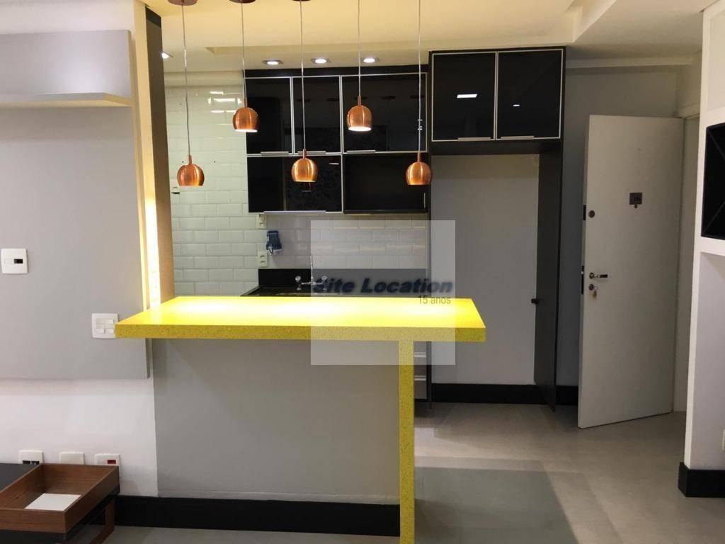 95062* lindo apartamento semi mobiliado. - ap3079