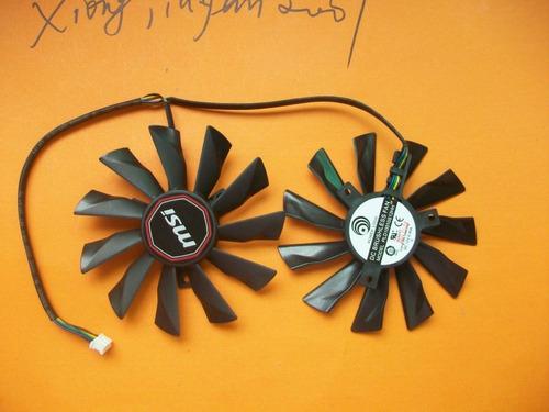 95mm ventilador dual para msi gtx 750 760 770 780 twin frozr