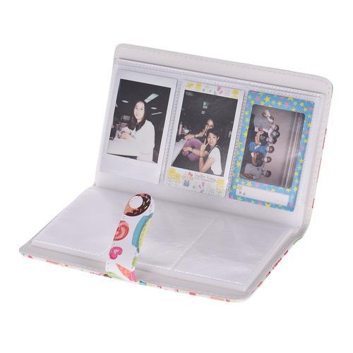 96 bolsillos mini foto álbum foto libro álbum para fujifilm