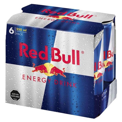 96 latas de red bull