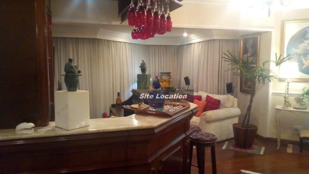 96214* grande apartamento no campo belo com 4 dormitórios - ap3388
