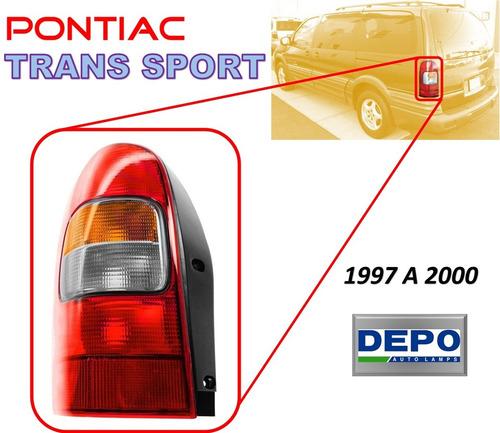 97-00 pontiac trans sport calavera trasera izquierdo depo