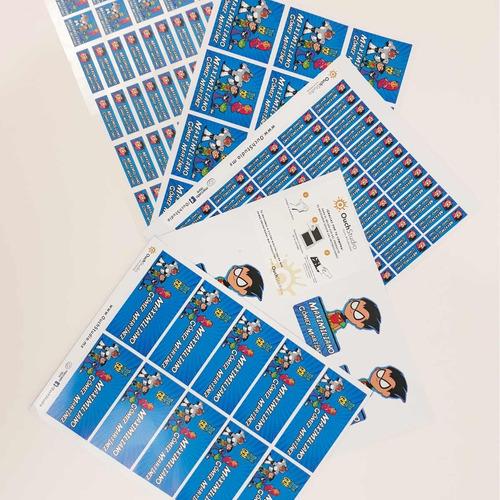 97 etiquetas escolares personalizadas niños