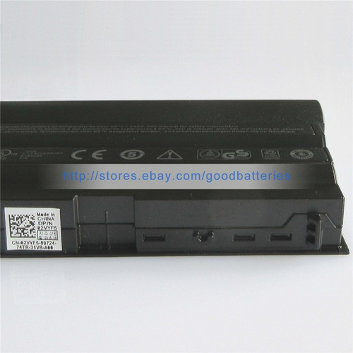 97wh genuino n3x1d m5y0x batería para dell latitude e6540 e5