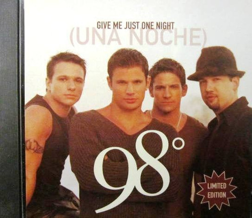 98° degrees - give me just one night una noche single imp us