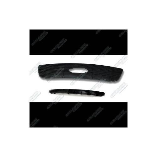 99-03 ford f-150 2wd parrilla parrilla negra billet insertar