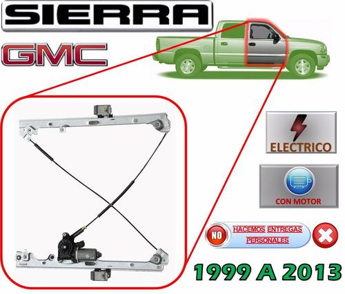 99-13 gmc sierra elevador electrico con motor delantero der.