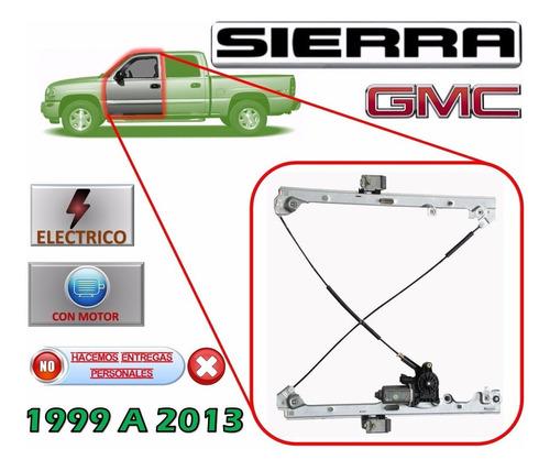 99-13 gmc sierra elevador electrico con motor delantero izq.