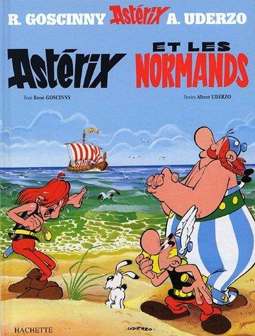 9.asterix et les normands.(frances); uderzo goscinny. r