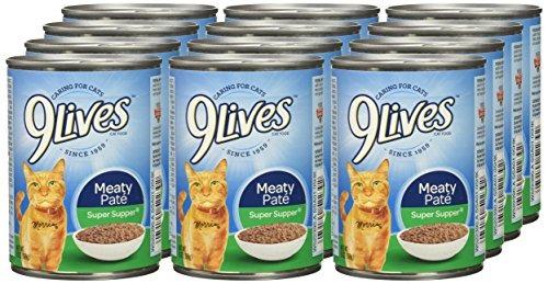 9lives Meaty Pate Super Supper Humedo Cat Food 13 Oz Latas