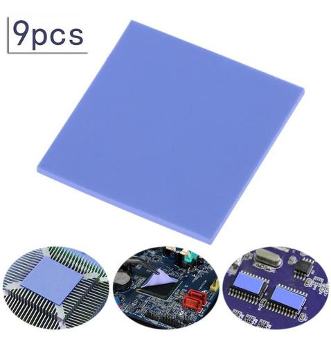 9pcs 30x30x2mm termal gpu cpu del disipador de calor tarjeta