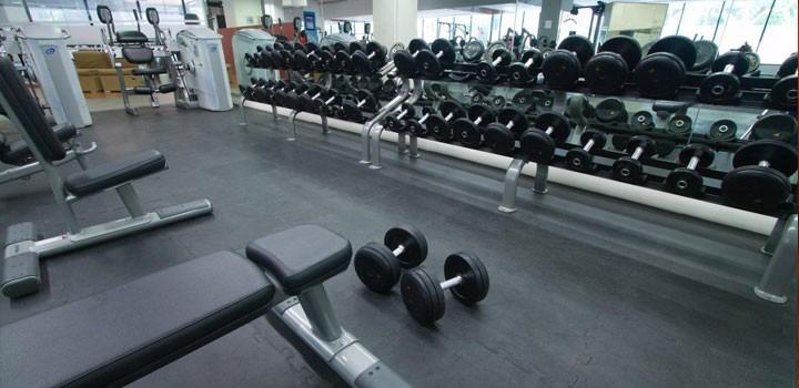 9pz de piso para gimnasio caucho importado fire sports - Equipamiento de gimnasios ...
