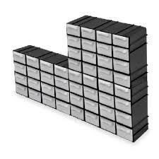 9x organizador gaveteiro luxo modulável 16 gavetas multiuso